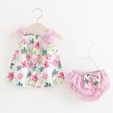 Baby Girls Princess Posy Top And Bloomers