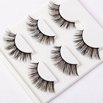 3D Natural Mink Eyelashes