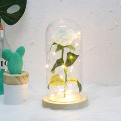Enchanted Forever Rose Lamp