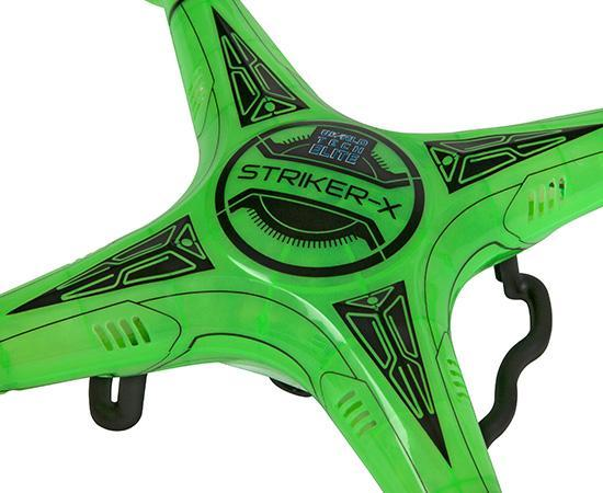 Striker-X Glow-In-The-Dark 2.4GHz 4.5CH RC HD Camera Drone