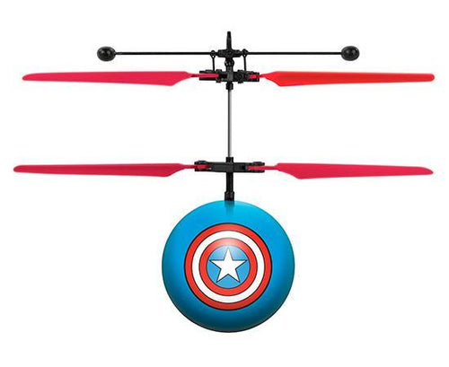 Marvel Licensed Avengers Captain America IR UFO Heli Ball