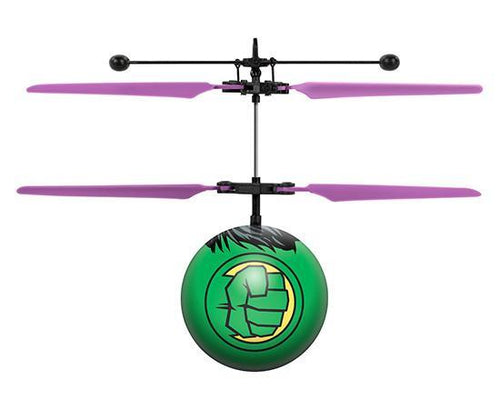 Marvel Licensed Avengers Hulk IR UFO Heli Ball