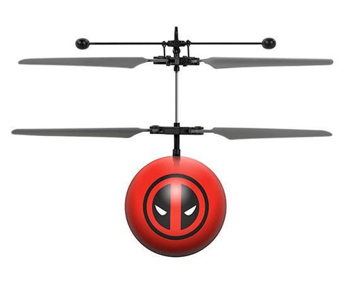 Marvel Licensed Deadpool IR UFO Heli Ball