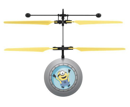 World Tech Toys Despicable Me Minions IR UFO Ball Helicopter