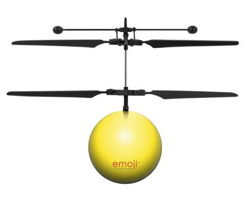 World Tech Toys Emoji Crazy Face IR UFO Heli Ball