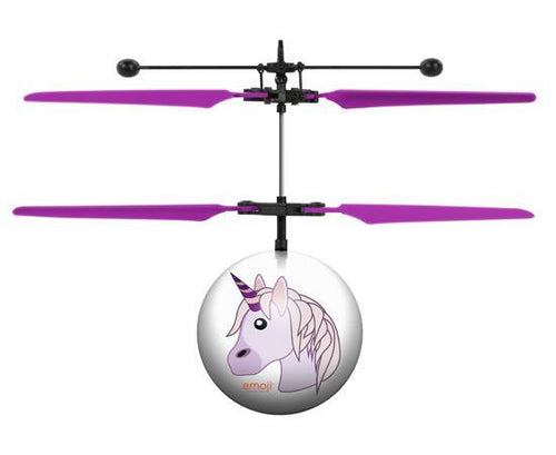 World Tech Toys Emoji Unicorn IR UFO Heli Ball