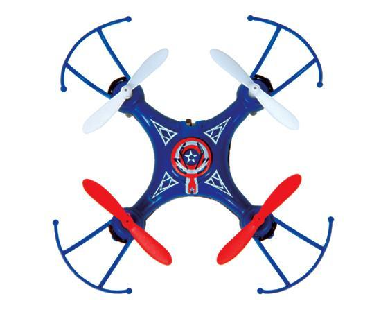 Marvel Licensed Captain America 2.4GHz 4.5CH Micro RC Drone