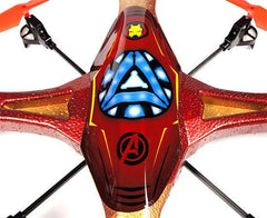 Marvel Licensed Avengers Iron Man 2.4GHz 4.5CH RC Super Drone