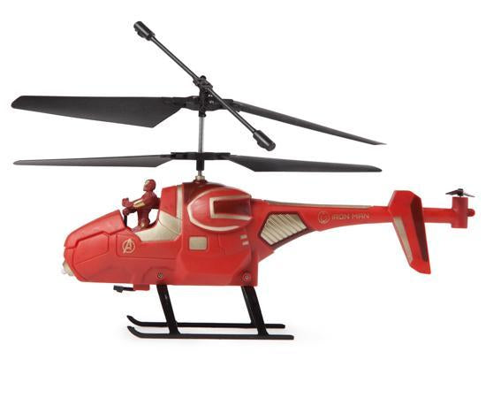 Marvel Avengers Iron Man IR Hero Pilot RC Helicopter
