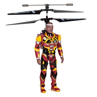 NBA Licensed Cleveland Cavaliers LeBron James Robojam 3.5CH IR RC Helicopter