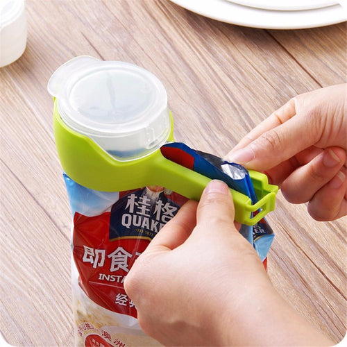 Food Sealing Clamp with Nozzle