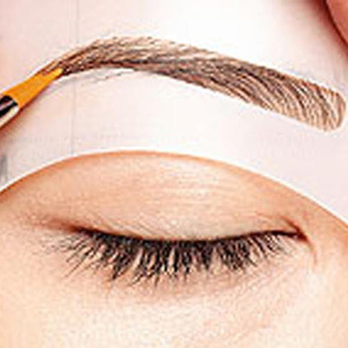 4 Pcs Eyebrow Stencil