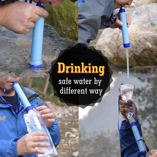 Survival Water Straw