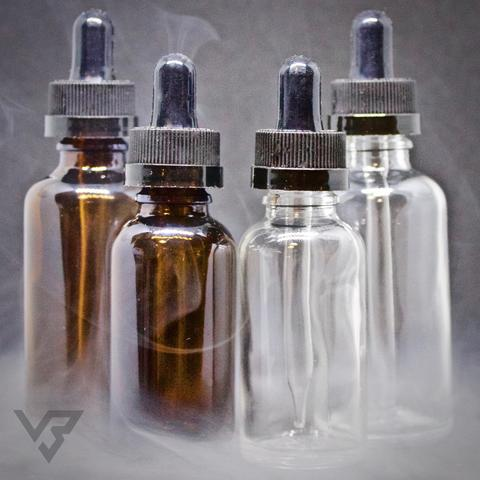 glass e liquid bottles UK