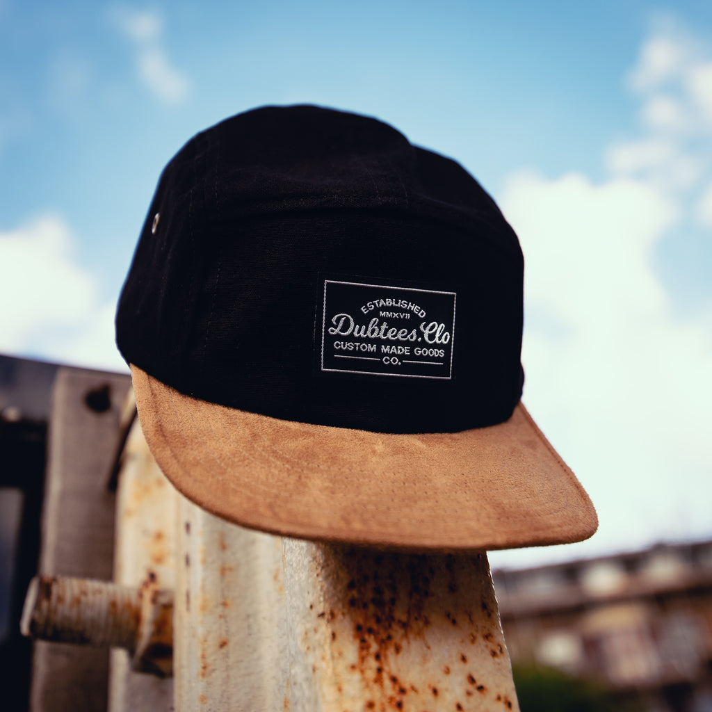 Dubtees.Clo 5 Panel- Black & Tan