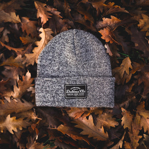 PATCH BEANIE - ANTIQUE GREY