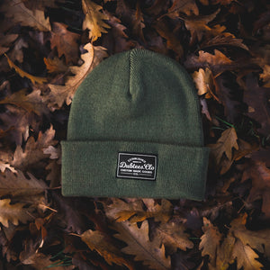 PATCH BEANIE - MILITARY GREEN