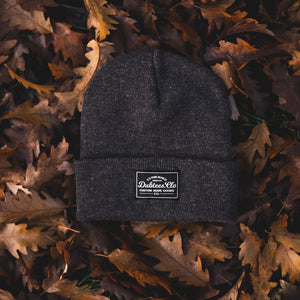 PATCH BEANIE - CHARCOAL