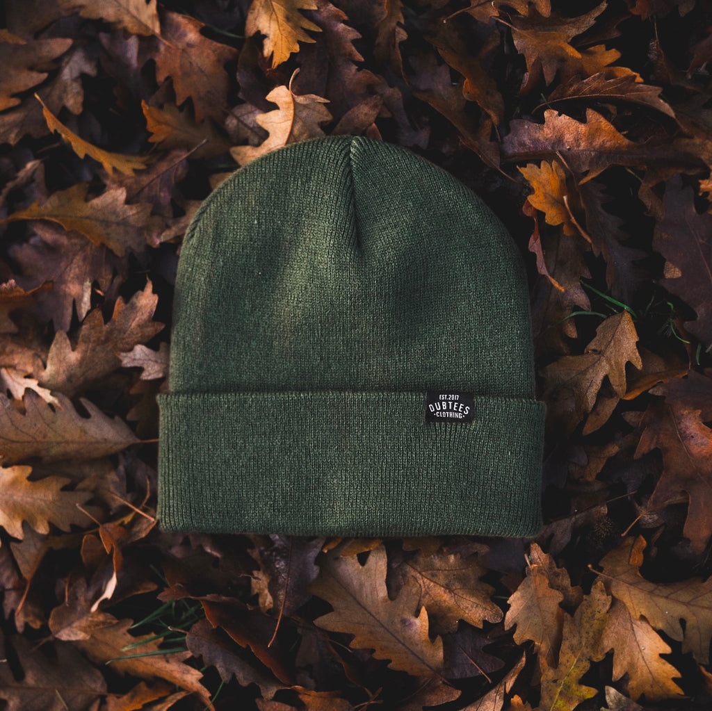 TAG BEANIE - MILITARY GREEN