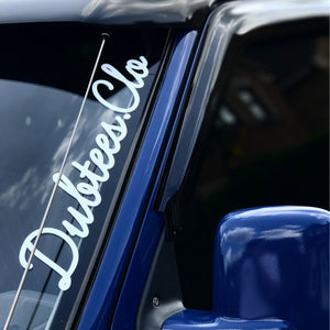 Dubtees.Clo Window Sticker 40CM