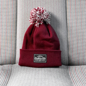 PATCH BOBBLE - BURGUNDY
