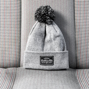 PATCH BOBBLE - HEATHER GREY