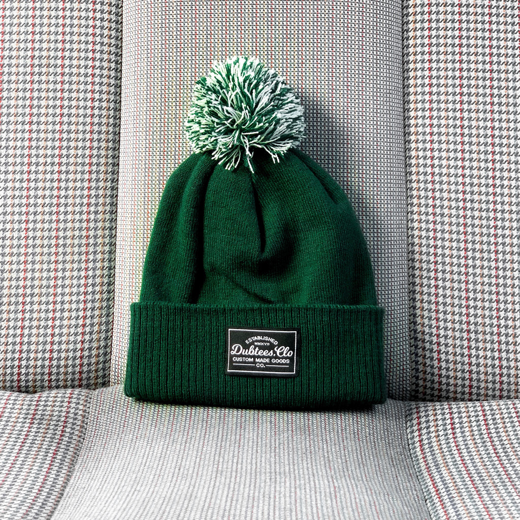 PATCH BOBBLE - BOTTLE GREEN