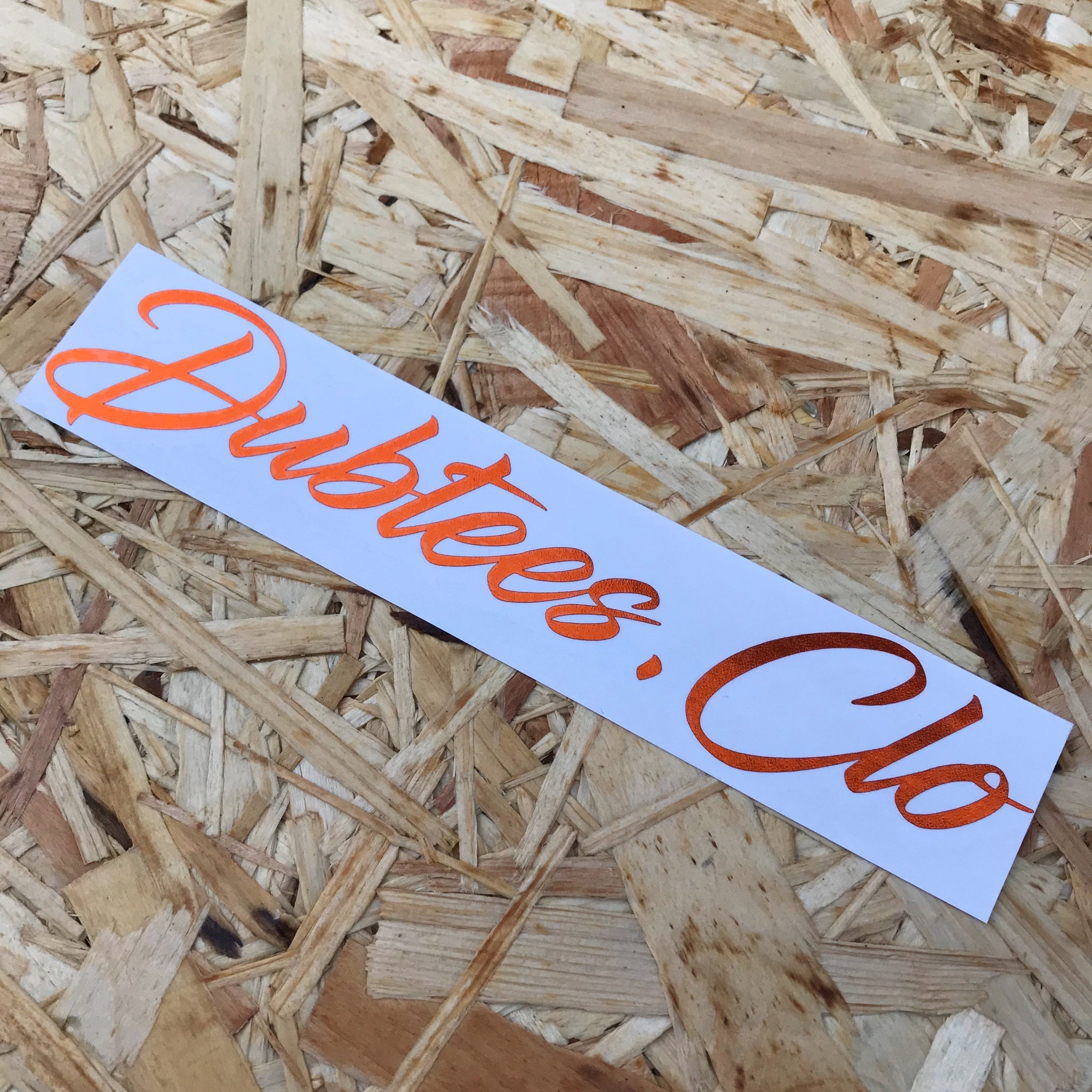 New Dubtees.Clo Window Sticker 19.5CM