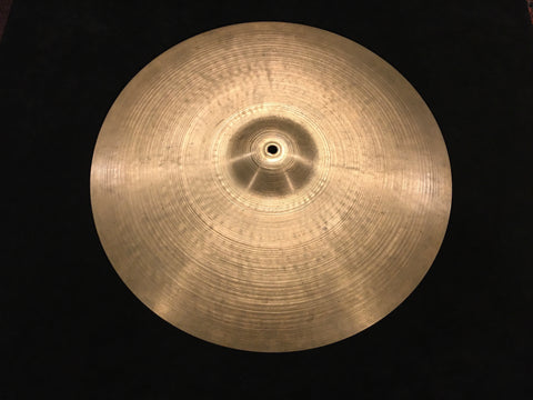 "20"" Zildjian A 1950s Small Stamp Ride Cymbal 2208g #688 *Sound File*"