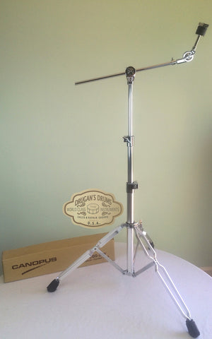Canopus Hybrid Heavy-Duty Light Weight Cymbal Stand - New Lower Price