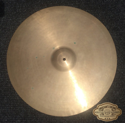 "18"" Vintage Early-Mid 1940's Zildjian A Crash-Ride Cymbal 1468g - Inventory # 161"