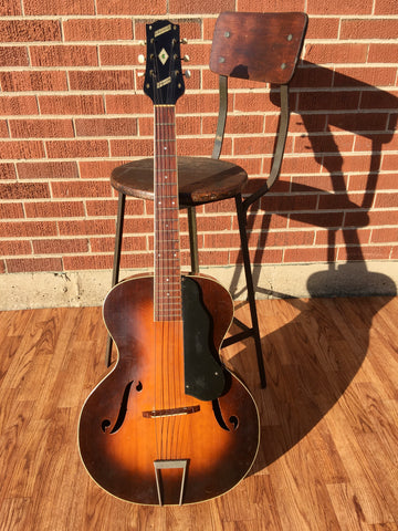 1930s Slingerland Songster Archtop Acoustic Guitar