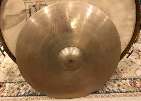 "22"" Zildjian A 1954-56 Large Stamp Ride Cymbal 2494g #555"