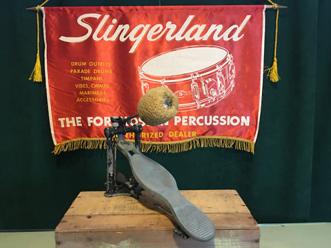 1928-1949 Slingerland Model #724 Speed Pedal Bass Drum Pedal Radio King