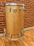 "1961 Ludwig ""Las Vegas Stand Up"" 24x16 Champagne Sparkle Cocktail Drum"
