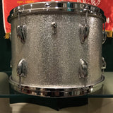 1965 Slingerland 9x13 Tom Drum Silver Sparkle