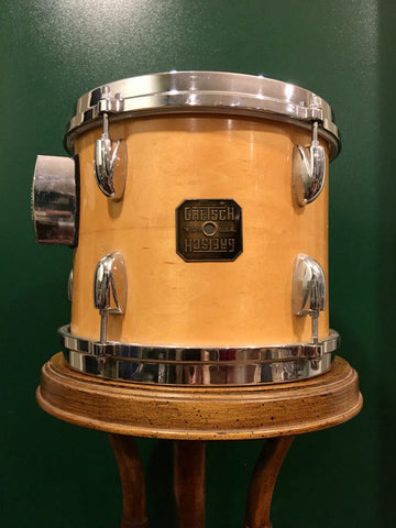 1982 Gretsch 8x10 Square Badge Tom Drum Natural Maple