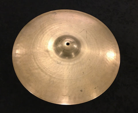 "16"" Zildjian A 1st Stamp (1929-1940) Crash / Single Hi-Hat Cymbal 1132g #437"