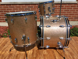 1965 Ludwig Super Classic Drum Set Champagne Sparkle 100% Original