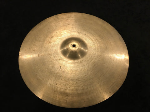 "16"" Zildjian A 1947-53 Trans Stamp Crash or Hi-Hat Cymbal 1014g #630"