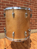 1948-52 Ludwig WFL 16x16 Super Classic Floor Tom Drum Champagne Sparkle