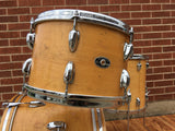 1970s Slingerland Bop Drum Set Natural Maple 3 Ply 18/12/14