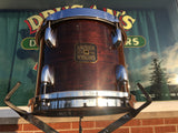 1982 Gretsch Square Badge 8x10 Virgin Tom Drum - Walnut Lacquer