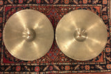 "14"" Zildjian A 1950s Hi-Hat Cymbals - Light and Amazing - 688/692g #613"