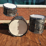 1966 Ludwig Club Date Drum Set Oyster Black Pearl 20/12/14