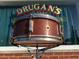 1957 WFL / Ludwig 5.5x14 Supreme Concert / Pioneer Snare Drum Mahogany