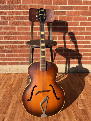 1946-1949 Gretsch Synchromatic 100 Sunburst Archtop Acoustic Guitar