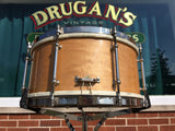 1946 Ludwig Pioneer 6.5x14 8 Lug Snare Drum Natural Maple