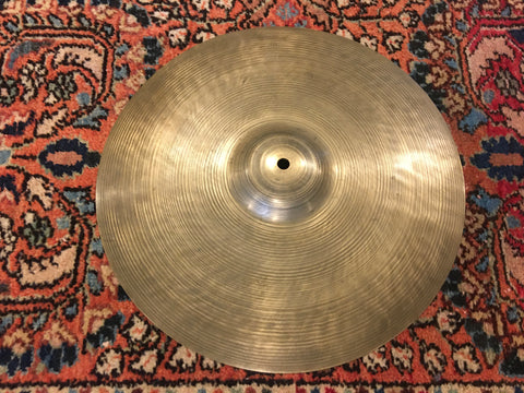 "14"" Zildjian A 1929-40 1st Stamp Small Ride / Single Hi-Hat Cymbal 1176g #154 *Sound File*"