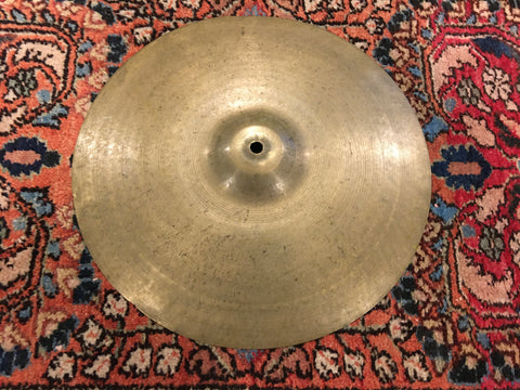 "14"" Zildjian A 1940s-50s Trans Stamp Crash / Splash Cymbal 464g"